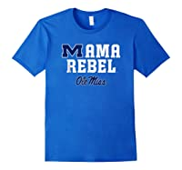 Ole Miss Rebels Mama Mascot T-shirt - Apparel Royal Blue