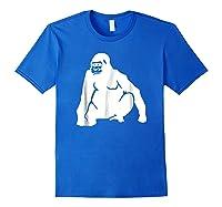 Huge Gorilla T-shirt Royal Blue
