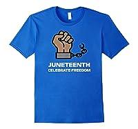 Junenth Junenth Celebration Shirts Royal Blue