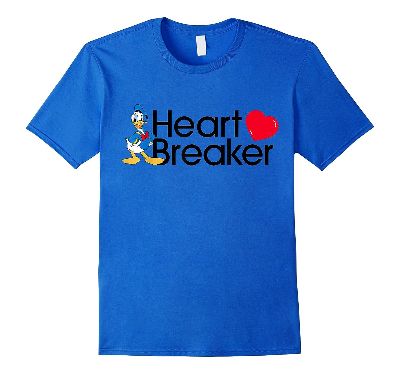 Disney Donald Valentine Heartbreaker T Shirt