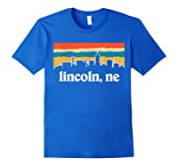 Lincoln Nebraska Shirt Royal Blue