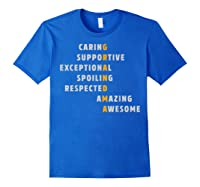 Grandma Crossword Definition Meaning Nana Funny Gift Shirt Royal Blue