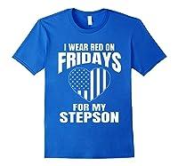 Deployed Stepson Homecoming Shirts Royal Blue
