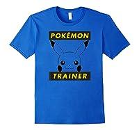 Pokemon Pikachu Trainer T-shirt Royal Blue
