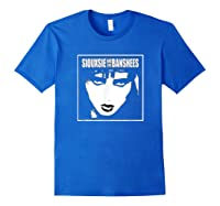 Siouxsie And The Banshees Siouxsie Sioux T Shirt Royal Blue