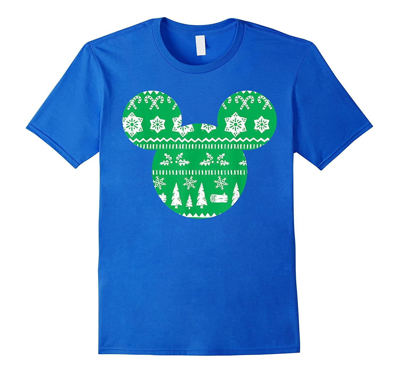 Disney Mickey Christmas Snowflakes T Shirt