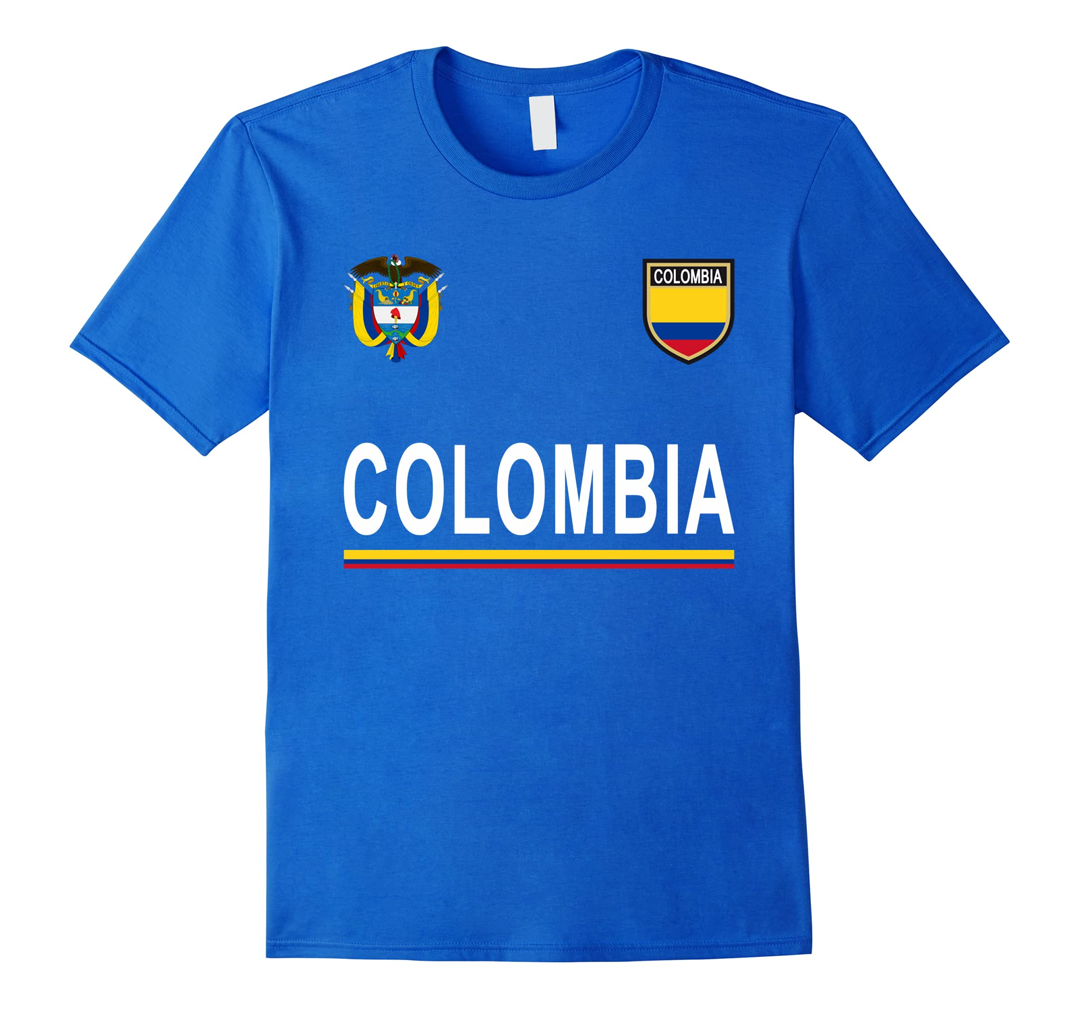 Colombia Cheer Jersey 2018 - Football Colombian T-Shirt-ah my shirt one gift 3a1eeaa97
