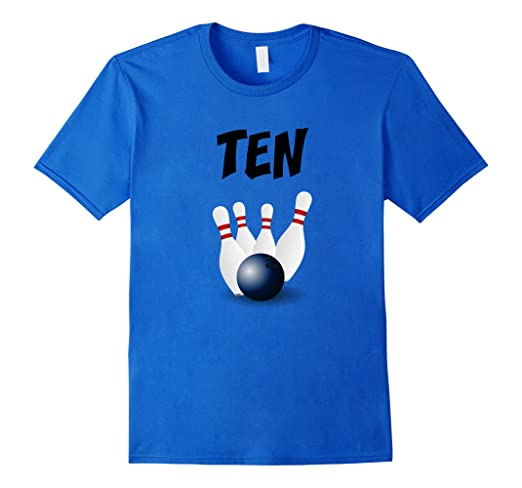 10 Year Old Bowling Birthday Party 10th T Shirt