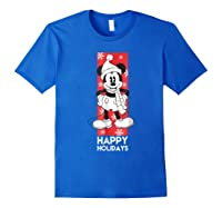 Disney Mickey Mouse Chilling T Shirt Royal Blue