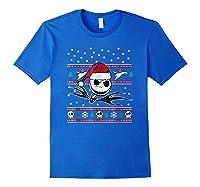 Nightmare Before Christmas Holiday Shirts Royal Blue