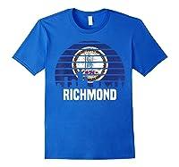 Richmond Virginia T Shirt Va Group City Trip Silhouette Flag Royal Blue