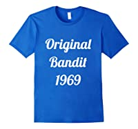 Original Bandit 1969 Retro T Shirt Royal Blue