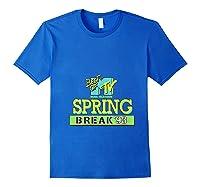 Best Of Mtv Spring Break 93 Classic Logo T-shirt Royal Blue