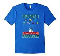 Video Game Designer Gamer S Gaming Shirts Royal Blue