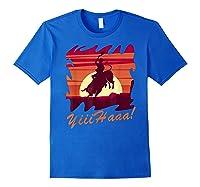 Rodeo 2019 T Shirt Houston Rodeo Cowboy Yiiihaaa Royal Blue