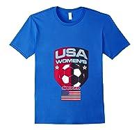 Soccer 2019 Usa Team Championship Cup Shirts Royal Blue