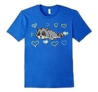 Trash Bandit Raccoon Valentine S Day T Shirt Gifts Royal Blue