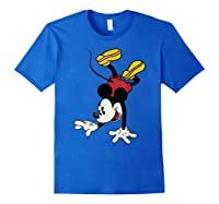 Disney Mickey Mouse Handstand T Shirt Royal Blue