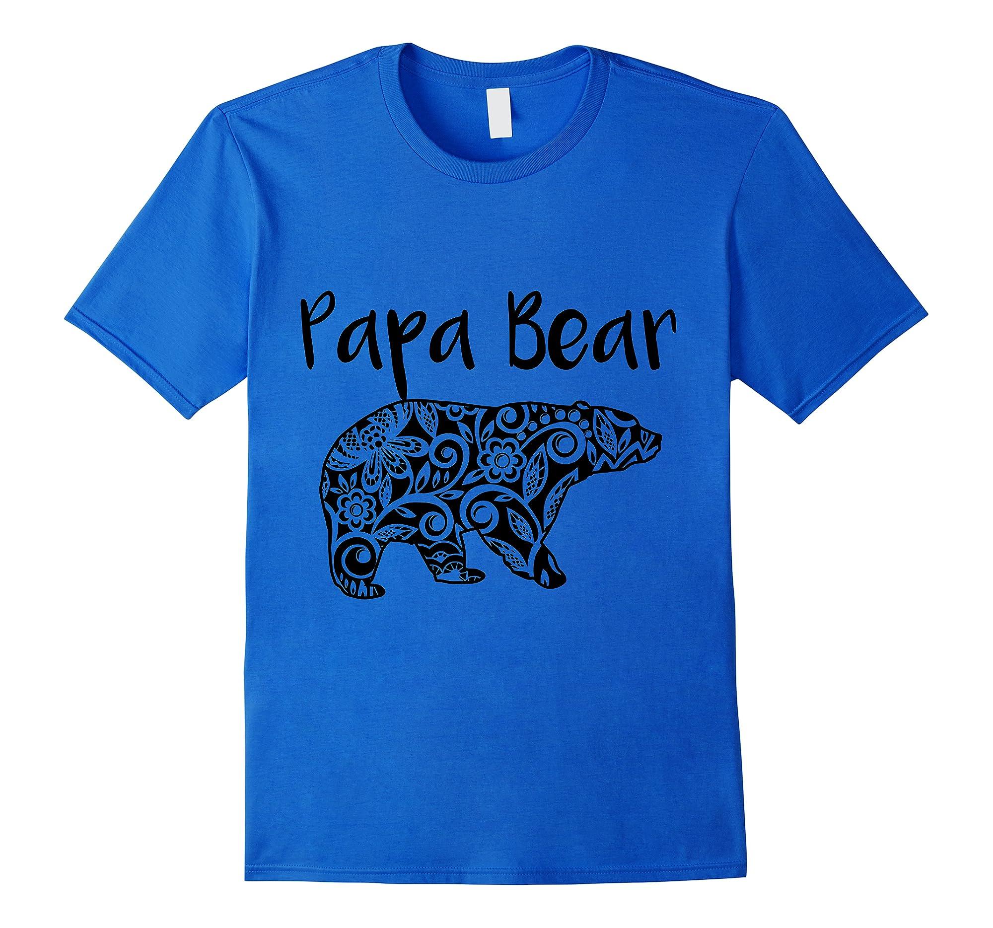 Fortuitous Dta Dta S Mama Papa Baby Bear Funny Family Matching Mother Day Ts Shirts Royal Blue
