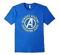 Marvel Avengers Academy Graduating Class Of 2019 Premium T-shirt Royal Blue