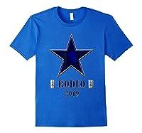 Rodeo 2019 T Shirt Houston Rodeo Royal Blue