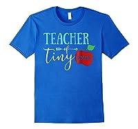 Tea Of Tiny Humans Best Tea Gift Shirts Royal Blue