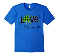 Damma - Love Damma Life Tshirt Royal Blue