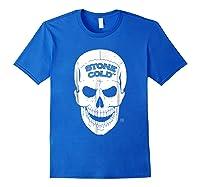 Stone Cold Steve Austin Shirts Royal Blue
