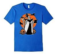 Disney Jafar The Powerful Halloween T Shirt Royal Blue