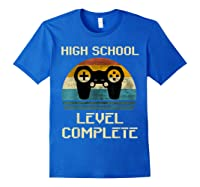 2019 High School Graduation Shirt Gamer Graduation Gifts-min Royal Blue