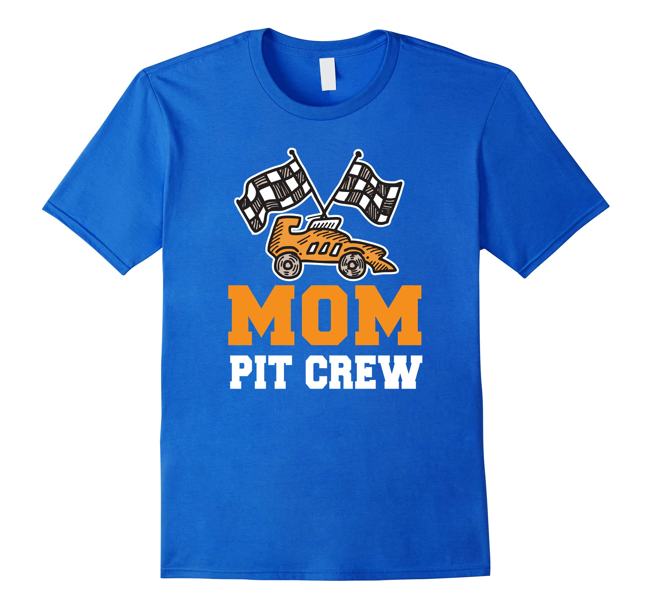 Mom Birthday Pit Crew T Shirt Car Race Theme Bday Party Ah My Shirt