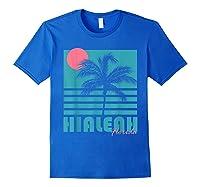 Hialeah Florida T Shirt Vintage Souvenirs Royal Blue