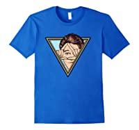 All-seeing Eye Shane Dawson Portrait Shirts Royal Blue