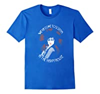 Siouxsie Sioux We Ve Come To Scream In The Happy House Shirts Royal Blue
