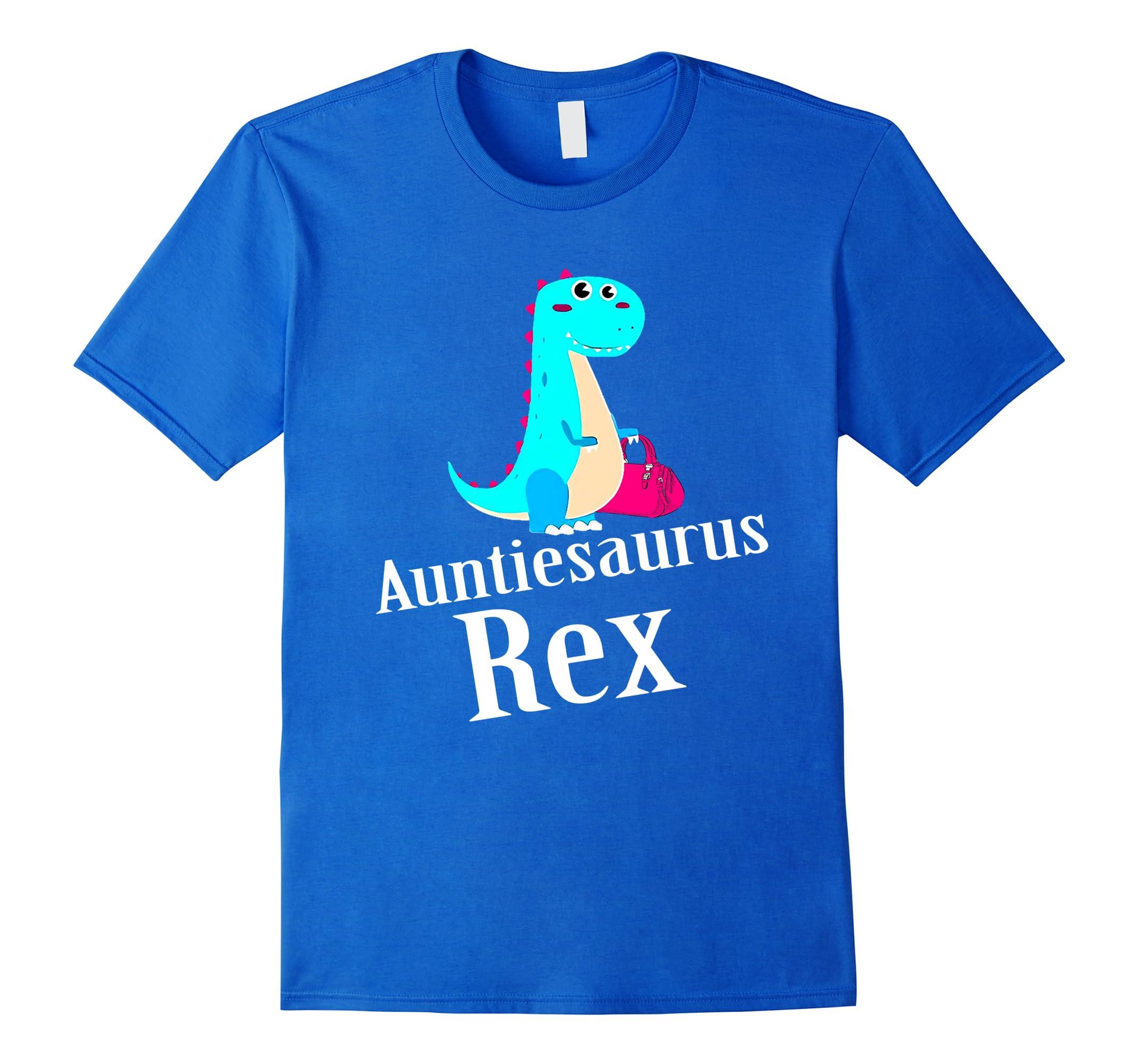 Auntiesaurus Rex Auntie Saurus T-Shirt for Women-RT