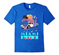Miami Mice Shirts Royal Blue