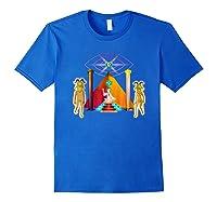 Rick And Morty Holy Rick Shirts Royal Blue