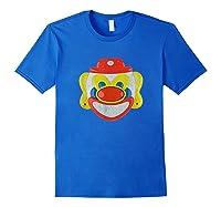Scary Clown T-shirt Royal Blue