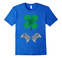 Video Game Gaming St Patricks Day Gamer For Shirts Royal Blue