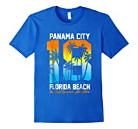 Pa City Beach 2018 Florida T Shirt Beach Lovers Gift Royal Blue