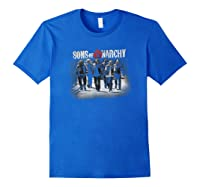 Sons Of Anarchy Rolling Deep T Shirt Royal Blue