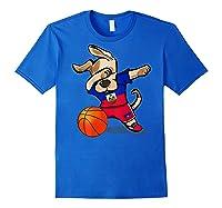 Dog Dabbing Haiti Basketball Haitian Sport Team Shirts Royal Blue