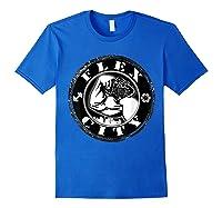 Flex City Feed Me More Nutrition T Shirt Royal Blue