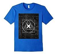 Playstation Playstation Woodcut 2 Shirts Royal Blue