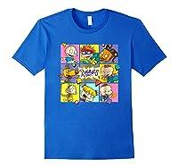 Rugrats Retro Box T-shirt Royal Blue