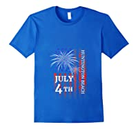 Huntington Beach 4th Of July 2019 Independence Day Shirts Royal Blue