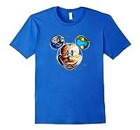 Disney Mckey Mouse Universe T Shirt Royal Blue