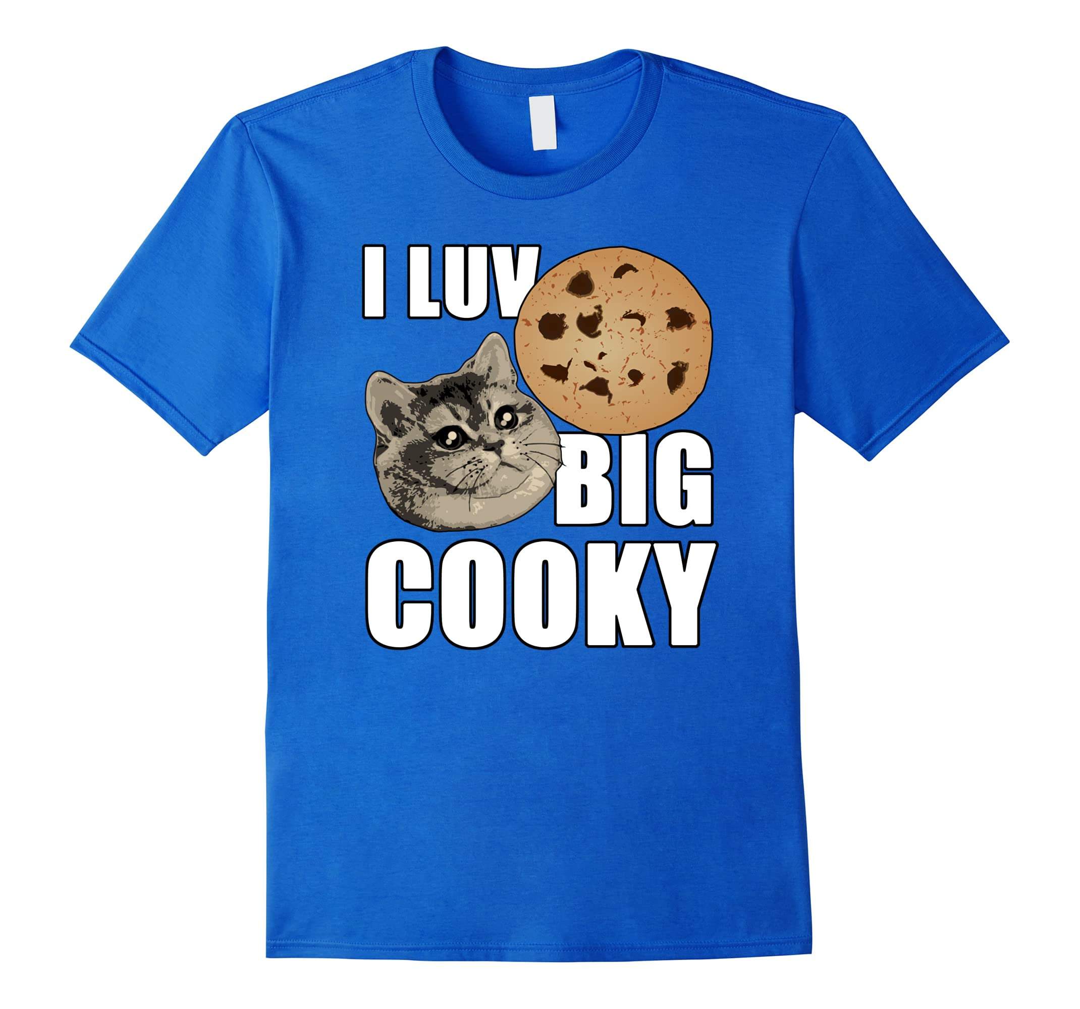 heavy breathing cat i luv big cooky treats t shirt ah my shirt one