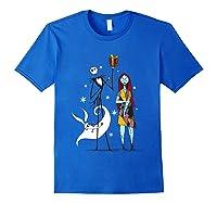 Disney Nightmare Gift T Shirt Royal Blue