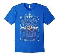 Snow Take A Bite Vintage Poster Shirts Royal Blue